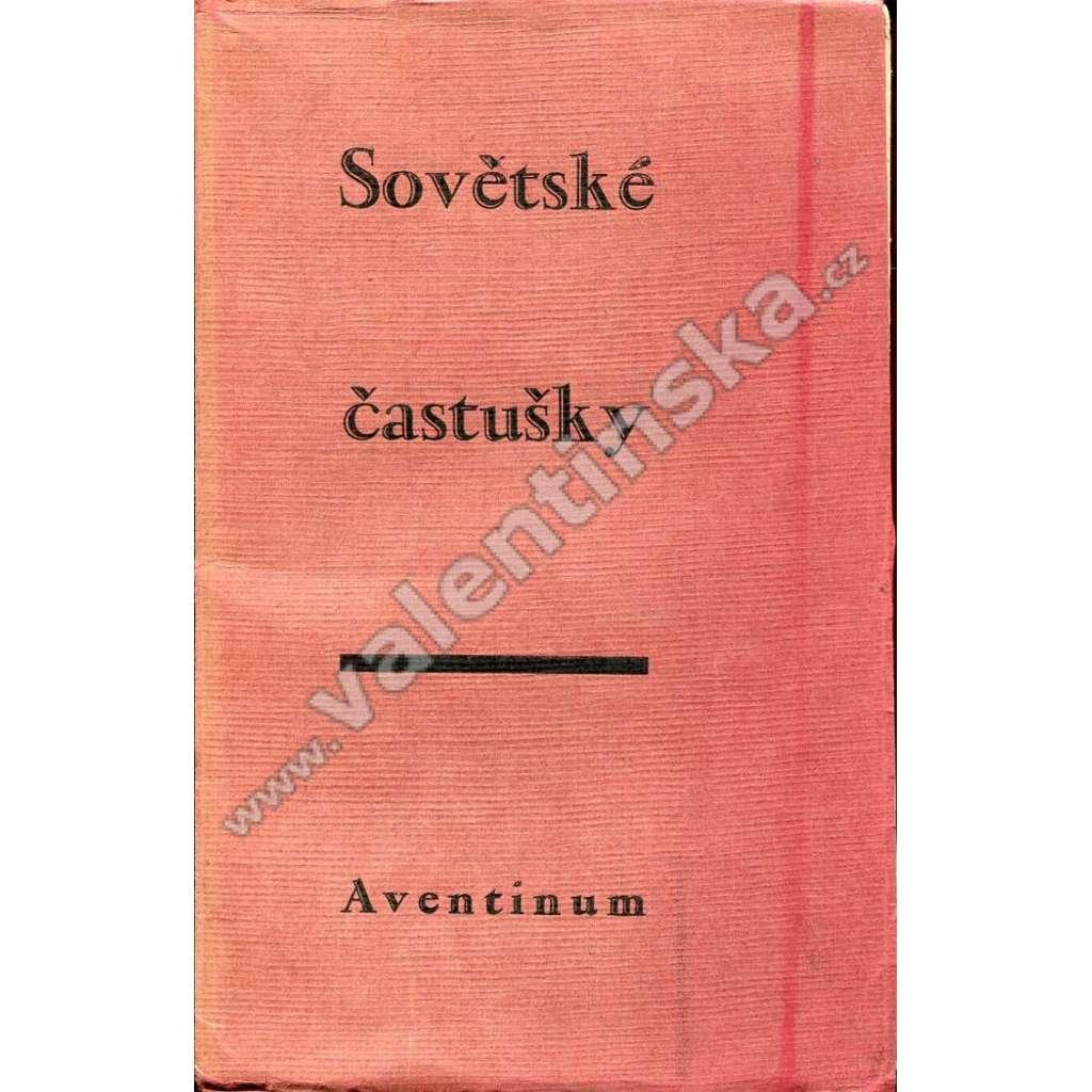 Sovětské častušky (ed. Aventinum)