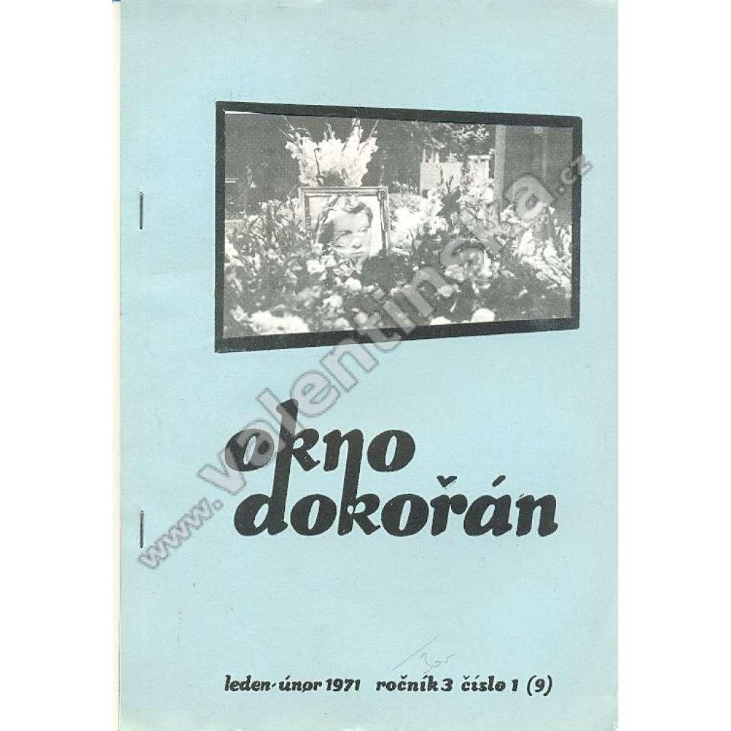 Okno dokořán, roč. 3; číslo 1; 1971 (exil)