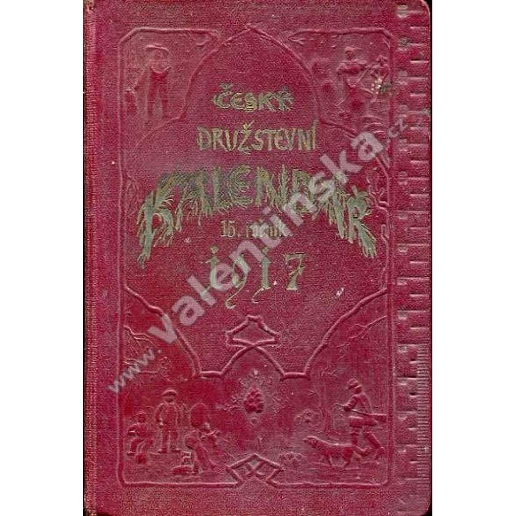 Český družstevní kalendář na r. 1917