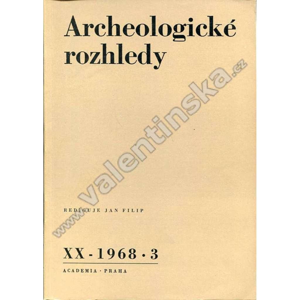 Archeologické rozhledy, 1986/3
