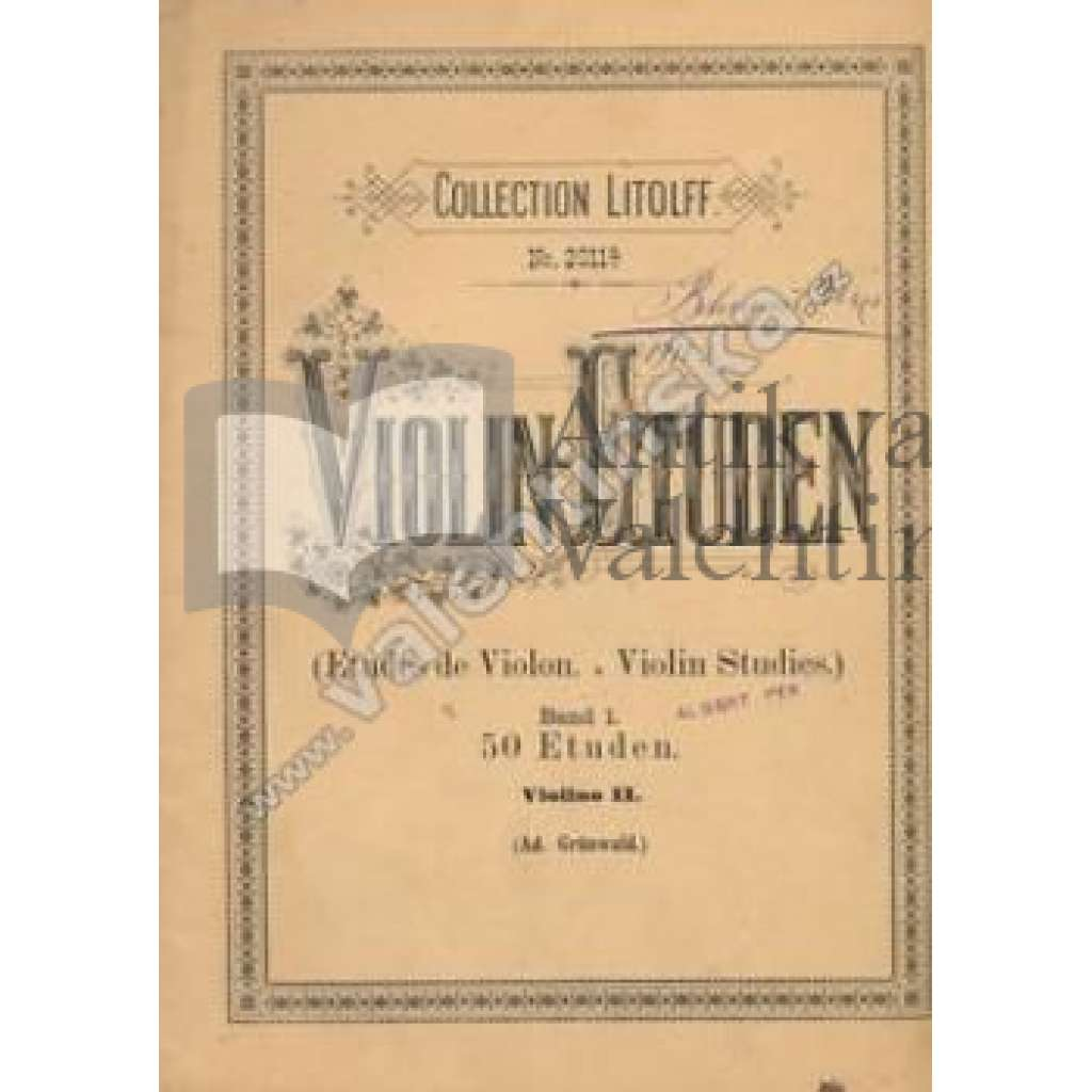 Violin - Etuden