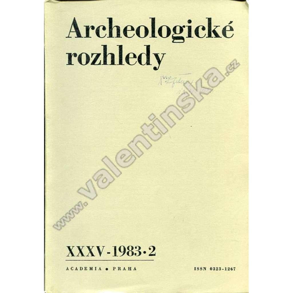Archeologické rozhledy, 1983/2