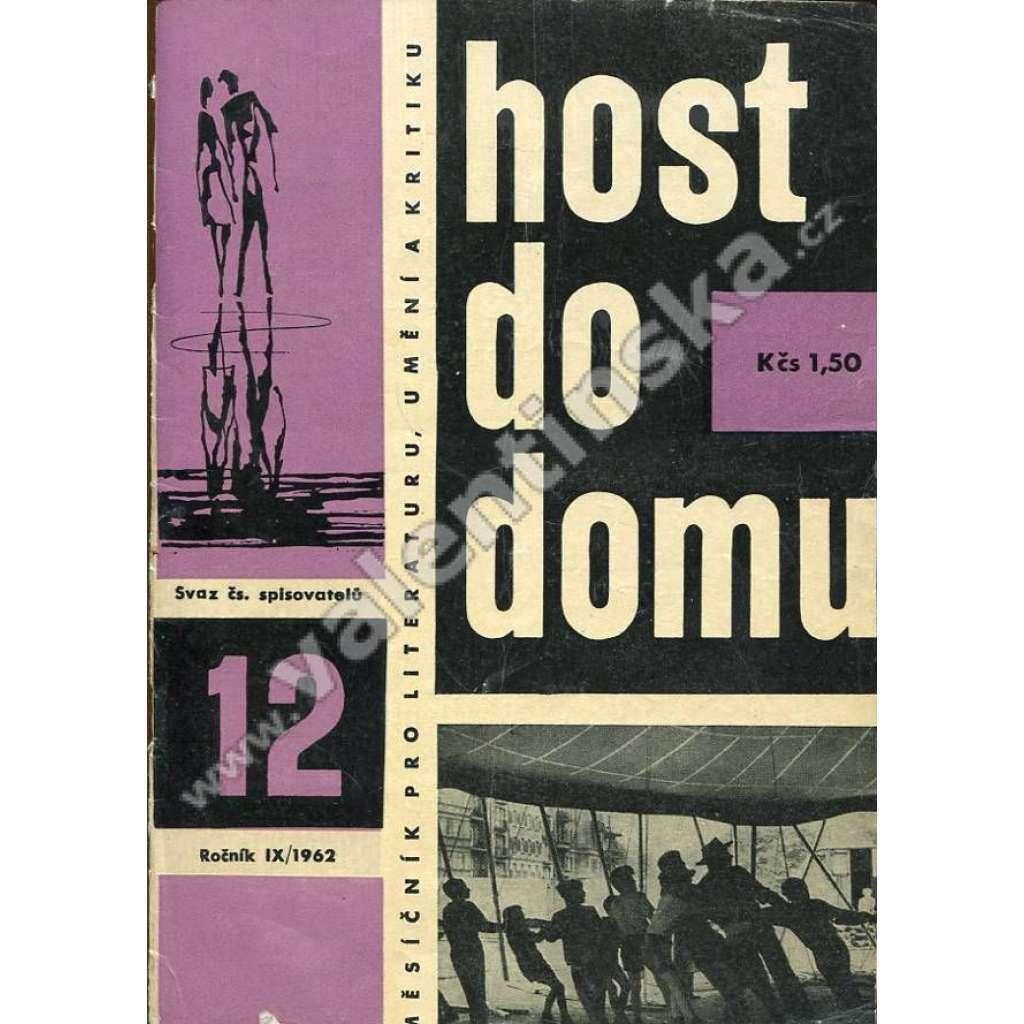 Host do domu, 12/1962