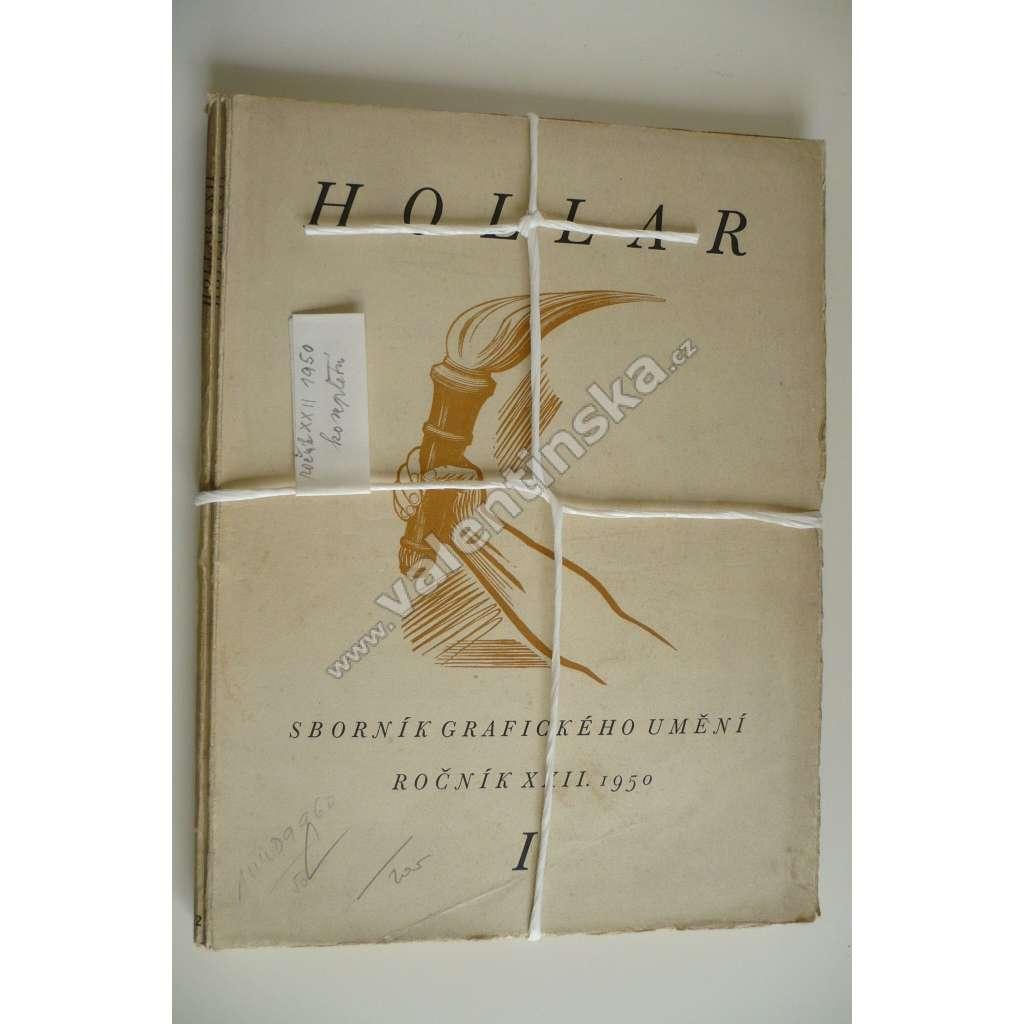 HOLLAR - Sborník grafického umění. XXII - 1950