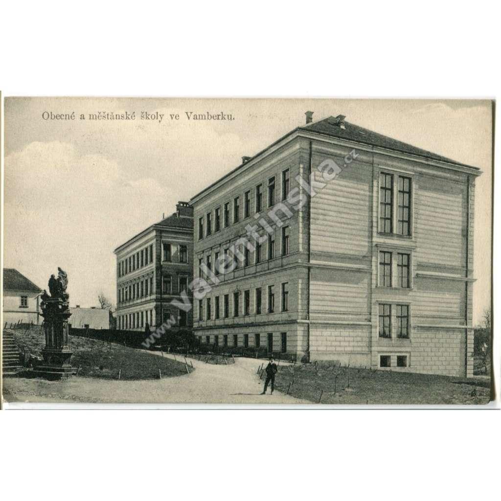 Vamberk, Rychnov nad Kněžnou, škola