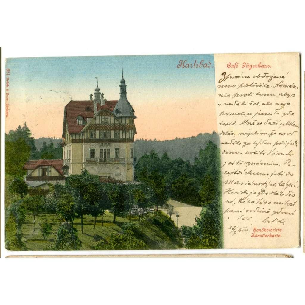 Karlovy Vary,, Kavárna Jagerhaus