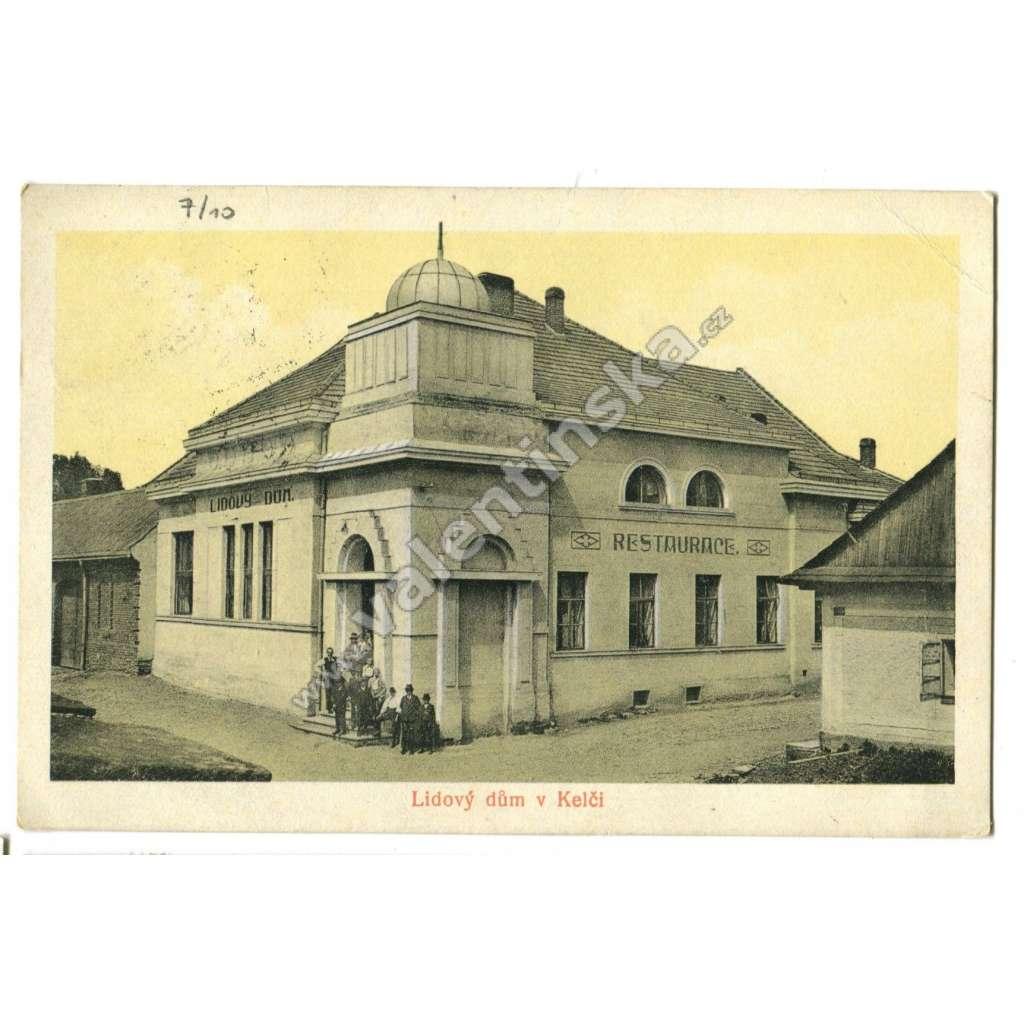 Kelč, Vsetín, hospoda hostinec restaurace