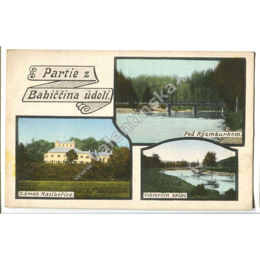 Babiččino údolí Ratibořice, Česká Skalice,, Náchod