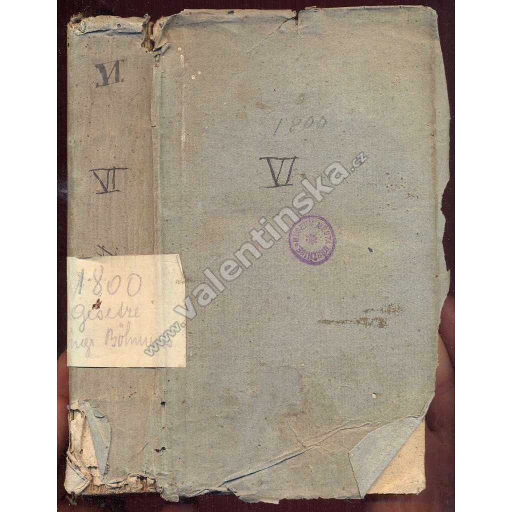 Vollständiger Auszug,Gesetze,Kun-Ott.,6.Teil,1800