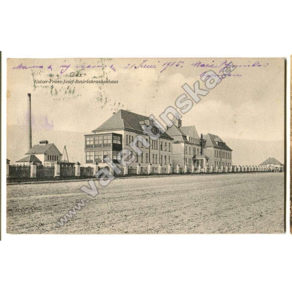 Duchcov, Teplice Nemocnice císaře Františka Josefa
