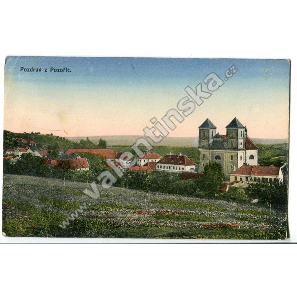 Pozořice, Brno venkov