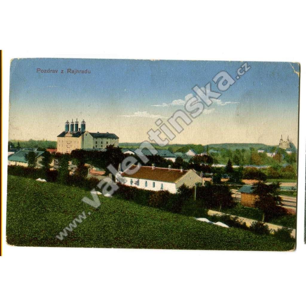 Rajhrad, Brno venkov,, továrna sladovna