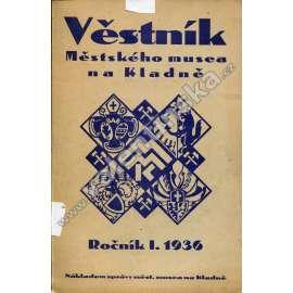 Věstník Městského musea na Kladně, r. I. (1936)