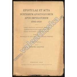 Epistulae et Acta Nuntiorum, T.III/Pars I/1