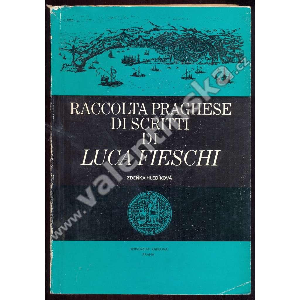 Raccolta Praghese di scritti di Luca Fieschi