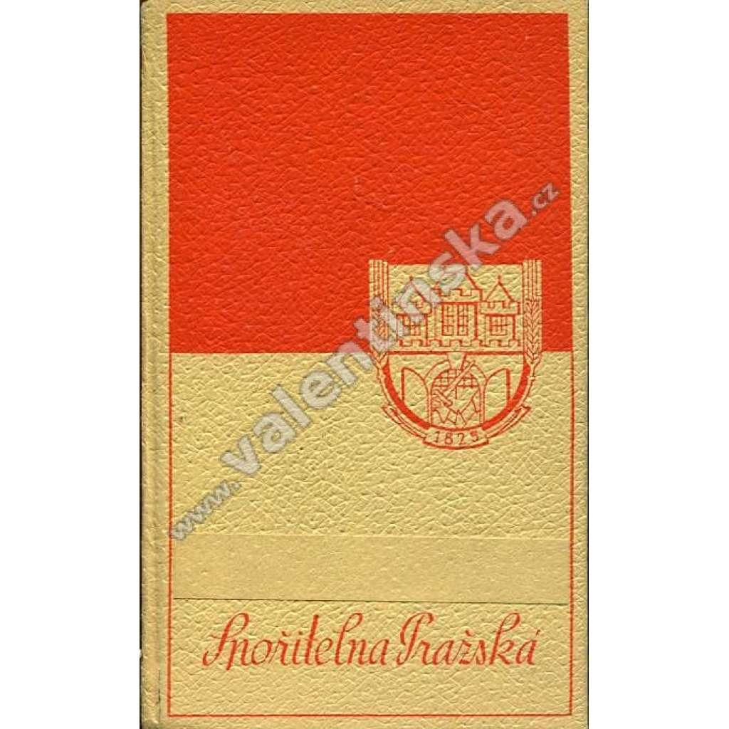 Spořitelní knížka - Spořitelna pražská (40. léta)