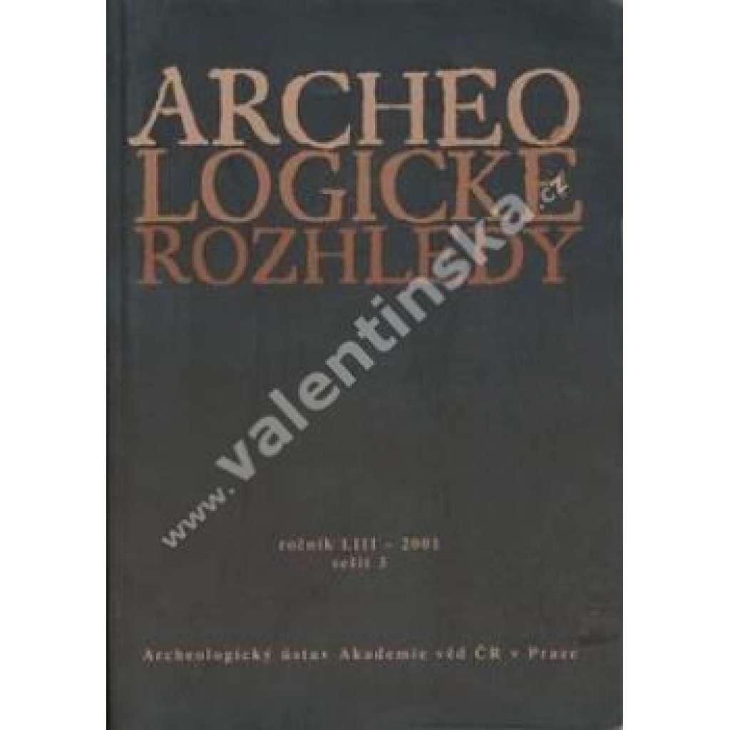 Archeologické rozhledy , roč. LIII - 2001, seš. 3