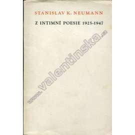 Z intimní poesie 1925-1947