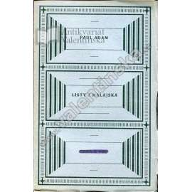 Listy z Malajska (ed. Knihy dobrých autorů)