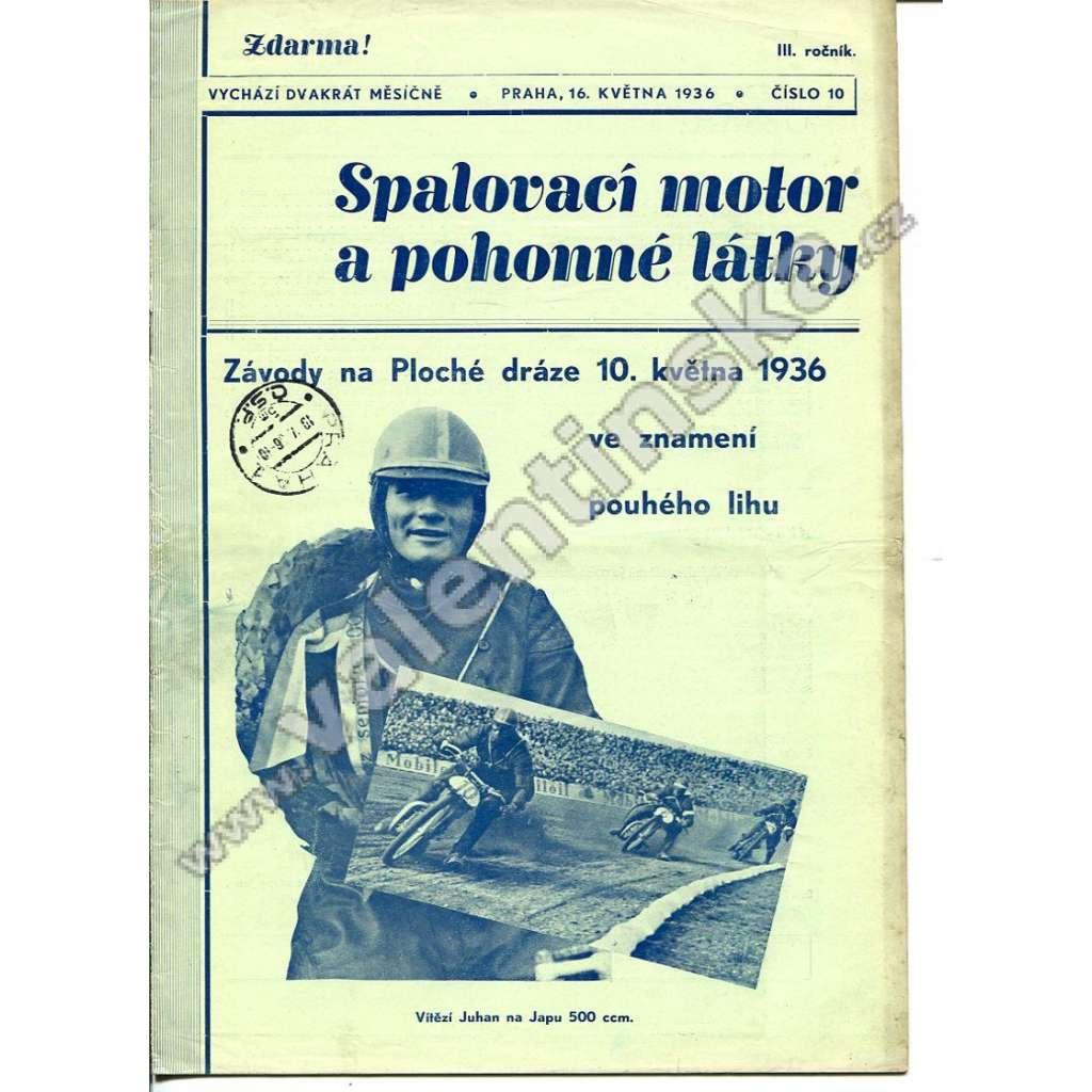ČASOPIS SPALOVACÍ MOTOR A POHONNÉ LÁTKY III/10