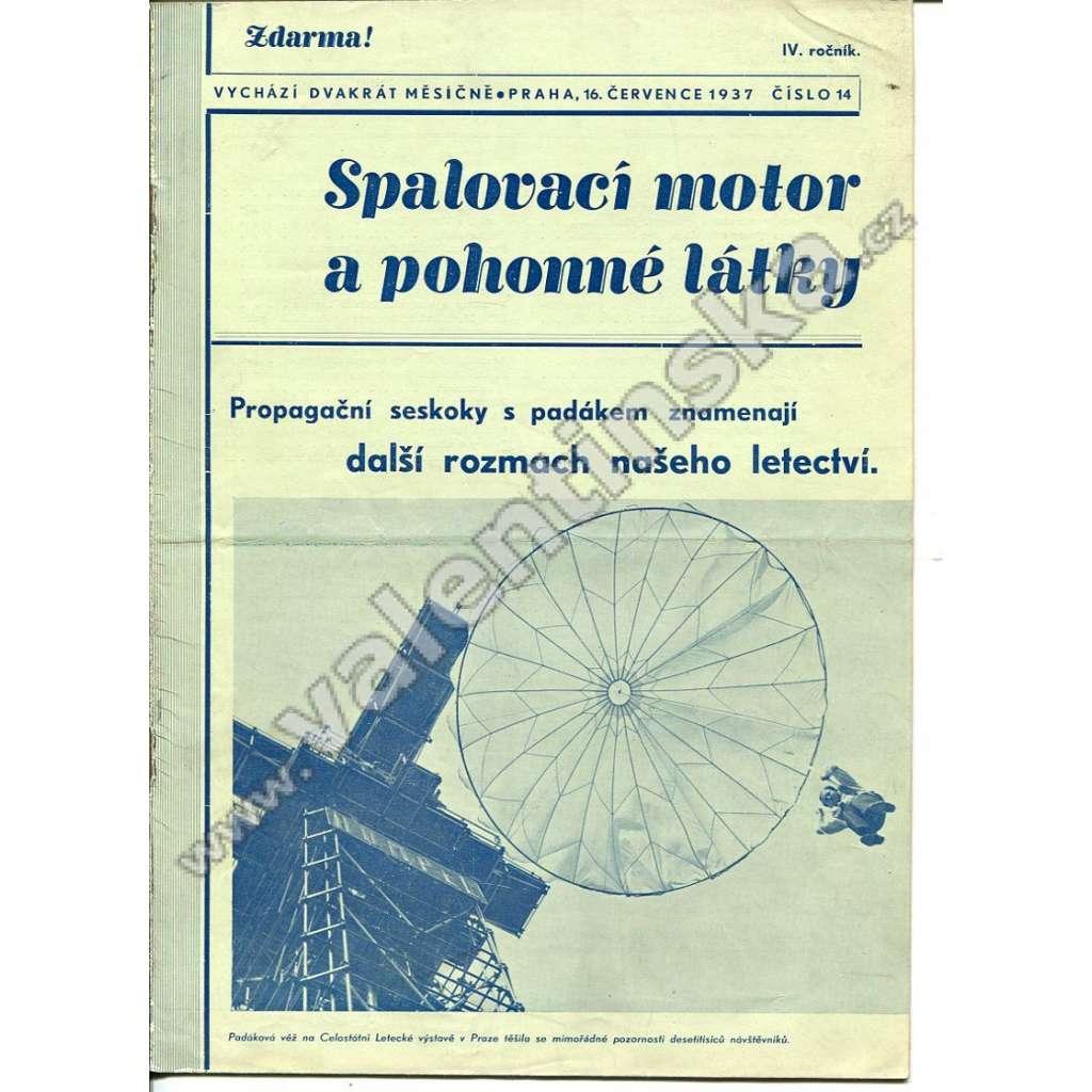 ČASOPIS SPALOVACÍ MOTOR A POHONNÉ LÁTKY IV/14