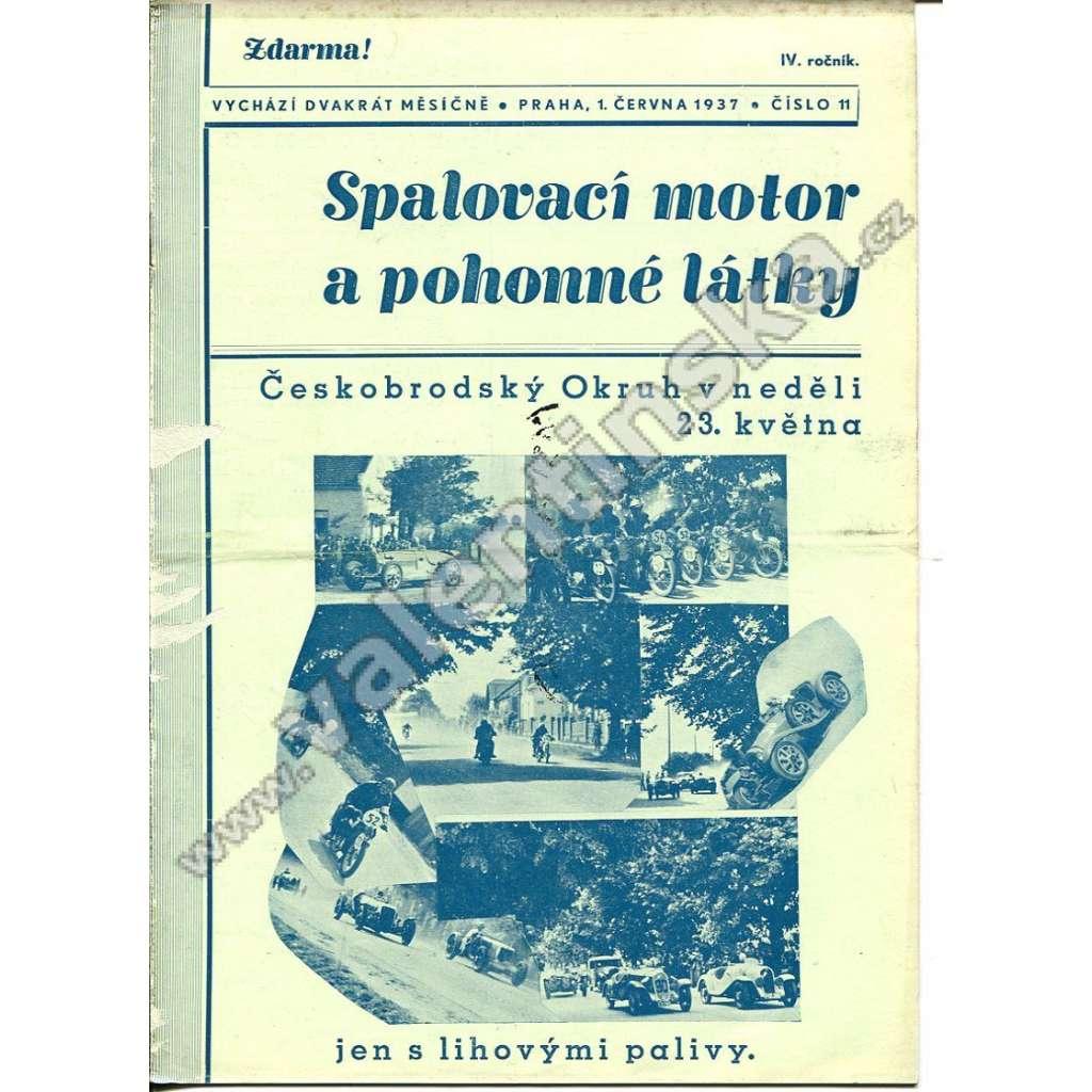 ČASOPIS SPALOVACÍ MOTOR A POHONNÉ LÁTKY IV/11