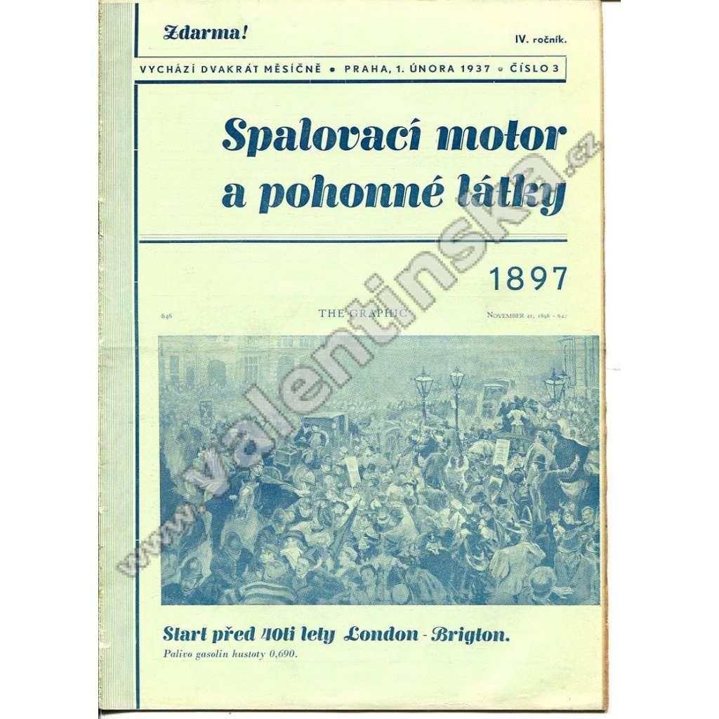 ČASOPIS SPALOVACÍ MOTOR A POHONNÉ LÁTKY IV/3