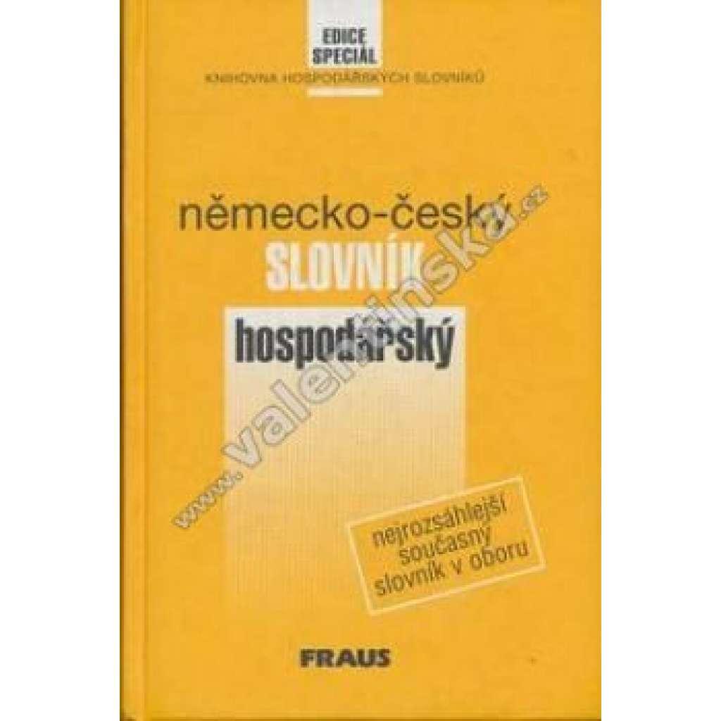 Německo - český slovník hospodářský