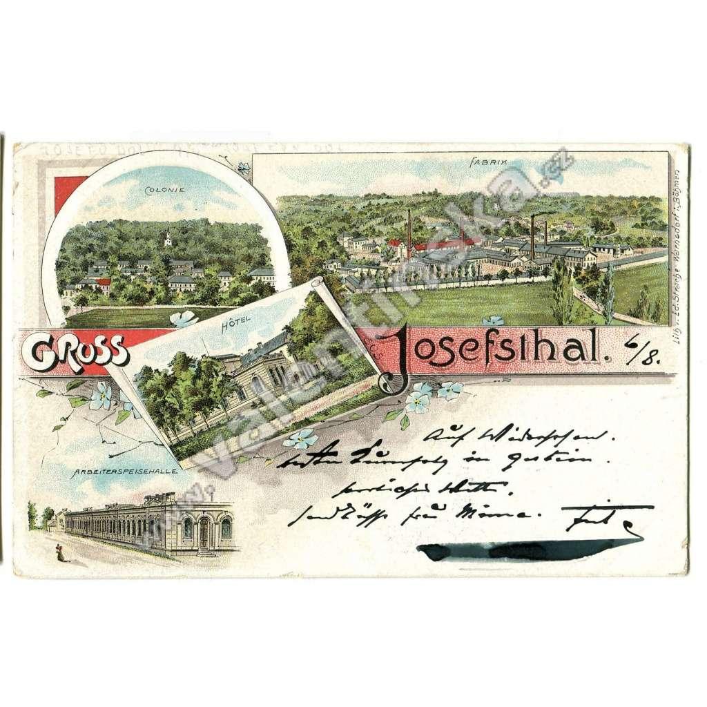 Josefův Důl - Josefodol, Kosmonosy, Mladá Boleslav, továrna
