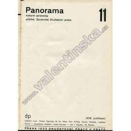 Panorama, konvolut (1933, 1934)