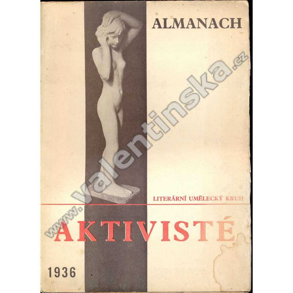 Almanach - Literární umělecký kruh Aktivisté, 1936