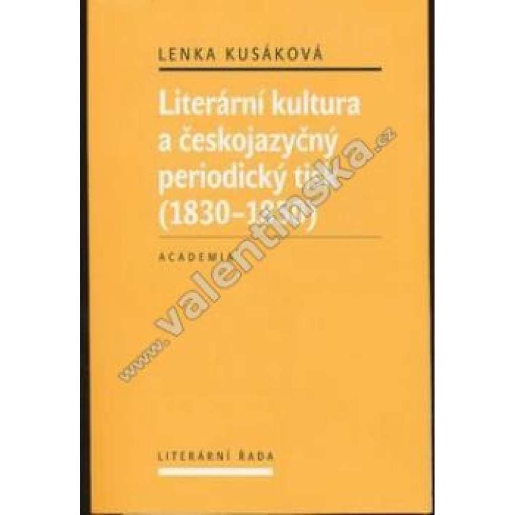 Literární kultura a českojazyčný periodický tisk