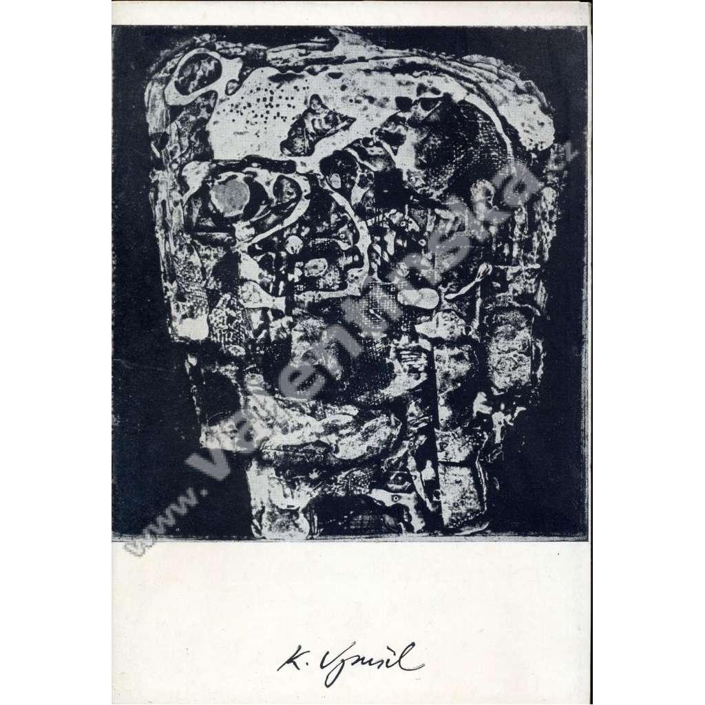 Karel Vysušil - grafika (katalog)