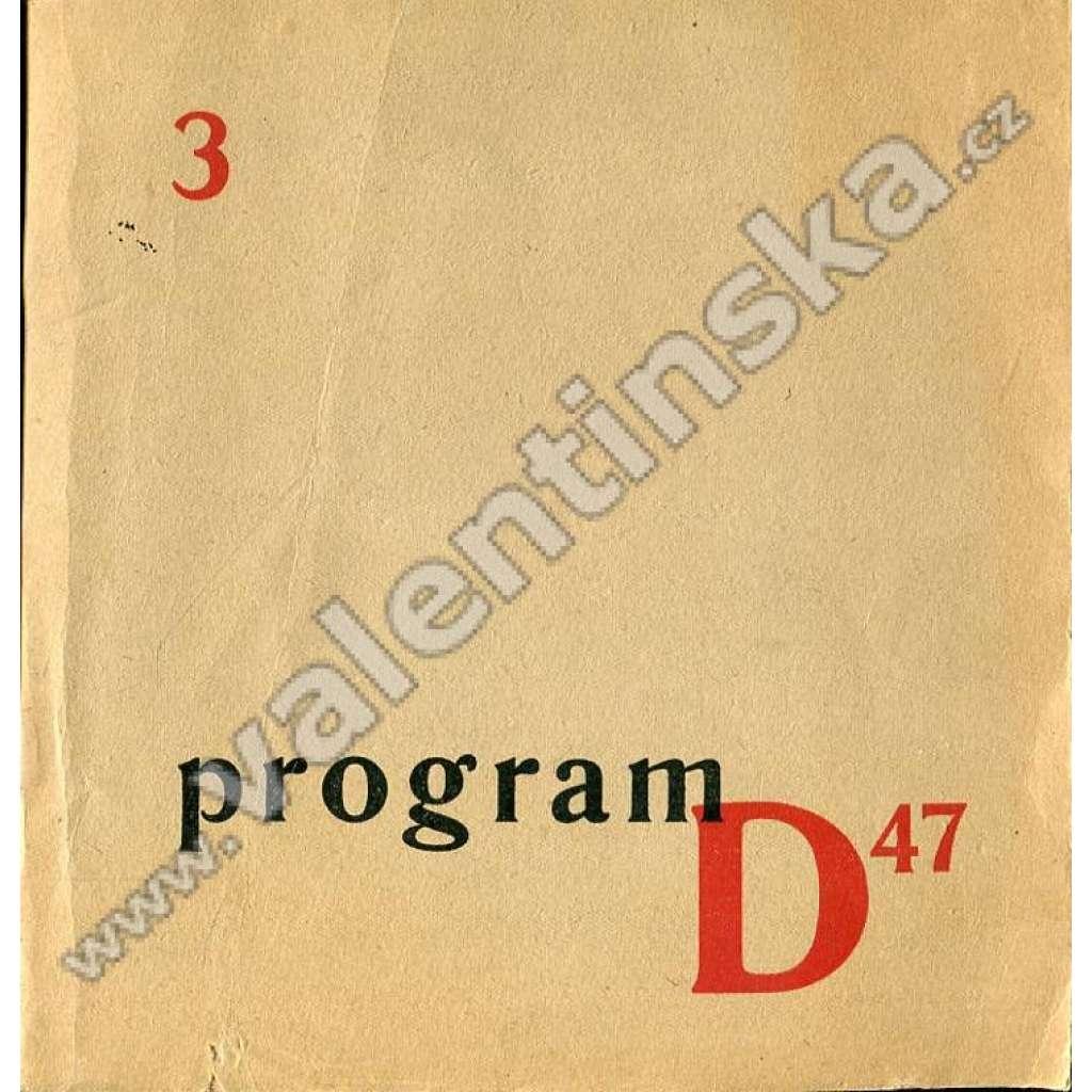 Program D47; 3 (listopad 1946)