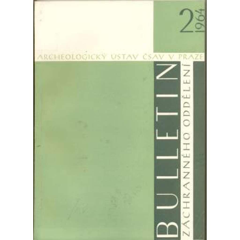 Bulletin záchranného oddělení 2/1964