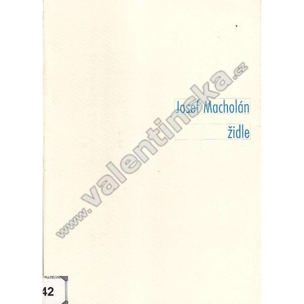 Josef Macholán - židle