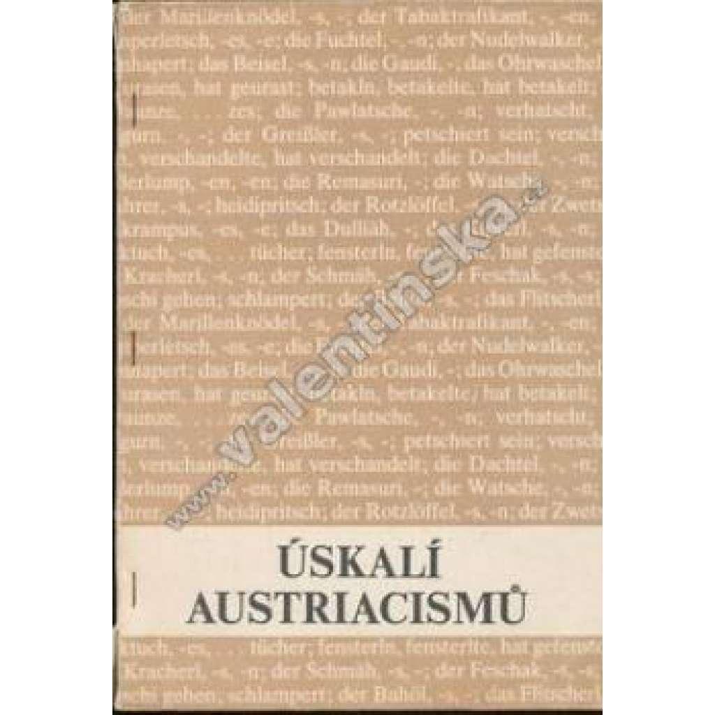 Úskalí austriacismů