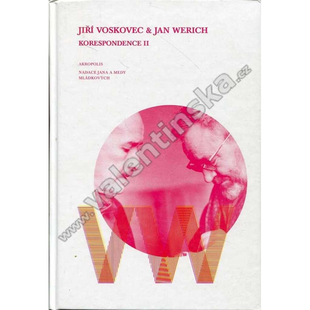 Jiří Voskovec a Jan Werich - Korespondence II.