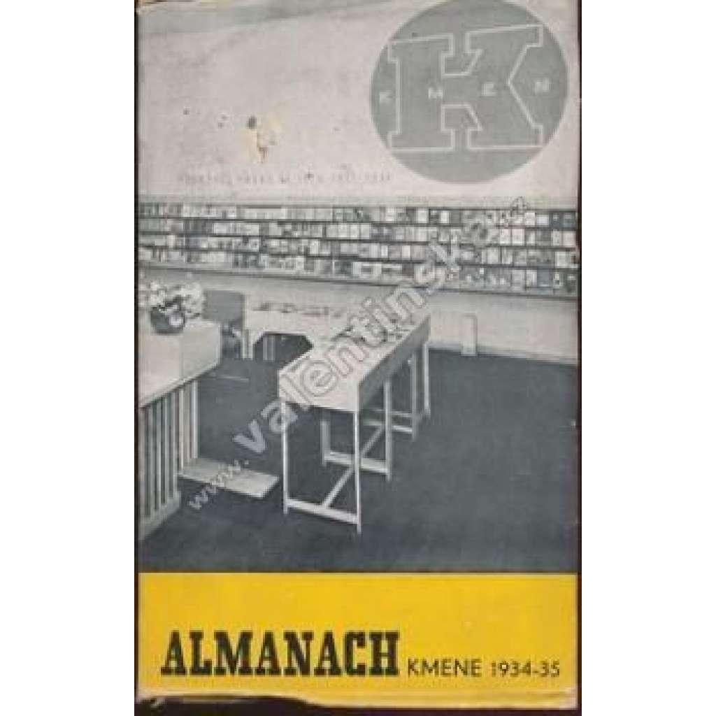 Almanach Kmene 1934-35