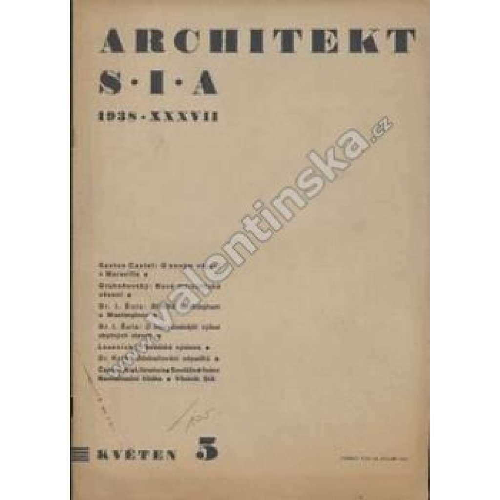 Architekt S.I.A, ročník 1938 - květen 5