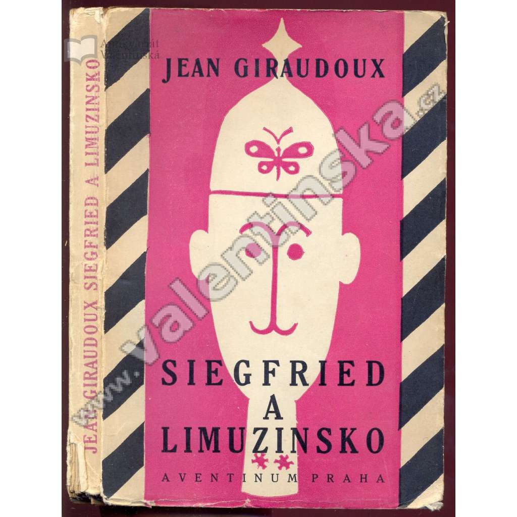 Siegfried a Limuzinsko (obálka Josef Čapek)