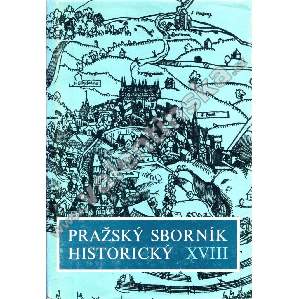 Pražský sborník historický XVIII.