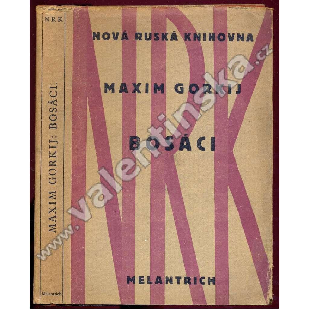 Bosáci (obálka Josef Čapek)