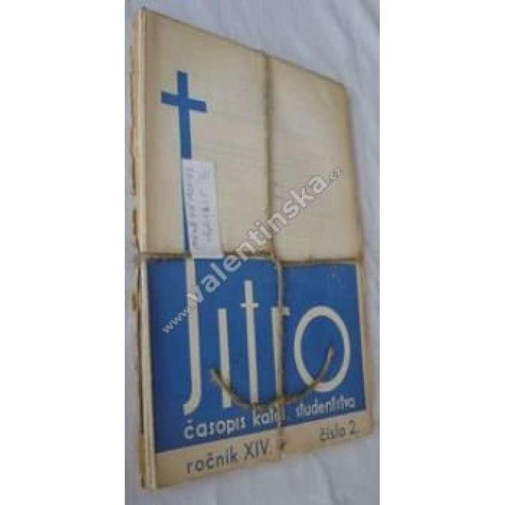 Časopis katolických studentů Jitro, r.XIV.1932-33