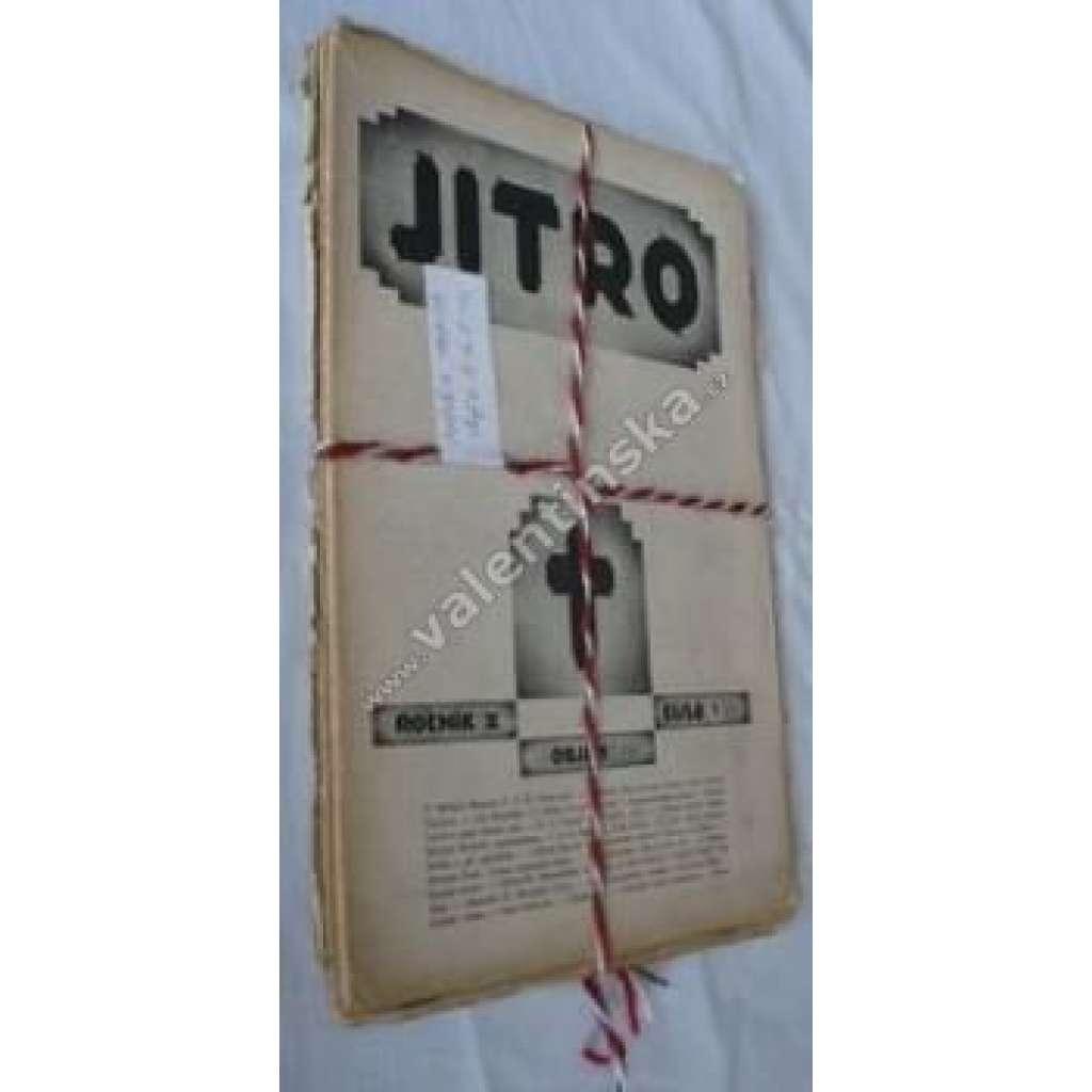 Časopis katolických studentů Jitro, r.X.1928-29