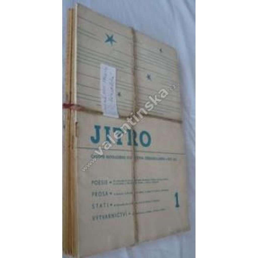 Časopis katolických studentů Jitro,r.XXII.1940-41