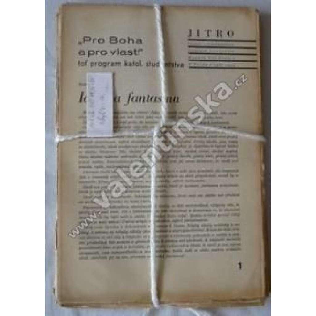 Časopis katolických studentů Jitro, r.XVI.,1934-35