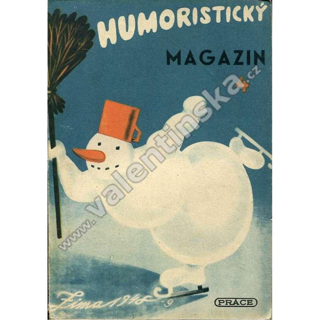 Humoristický magazín, 4 (1948)