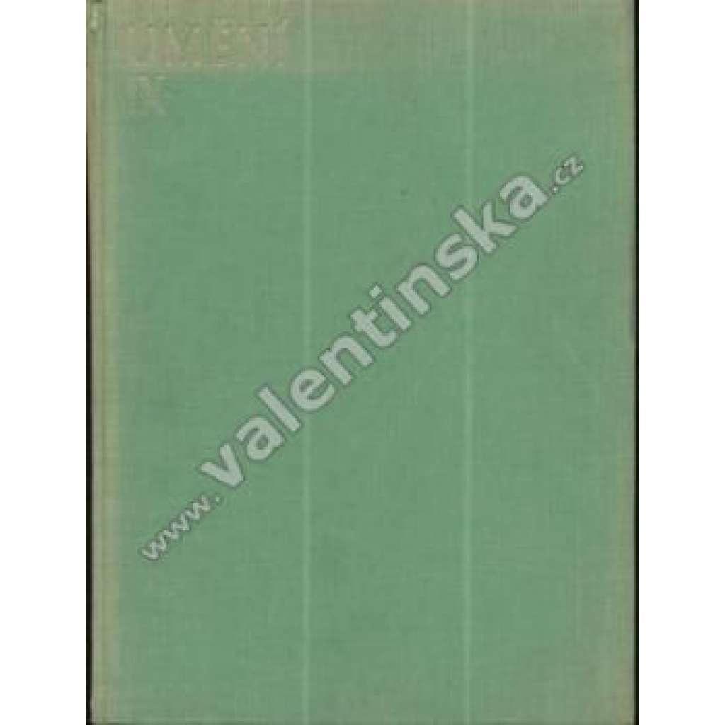 Umění. Sborník pro českou výtvarnou práci.IX./1935