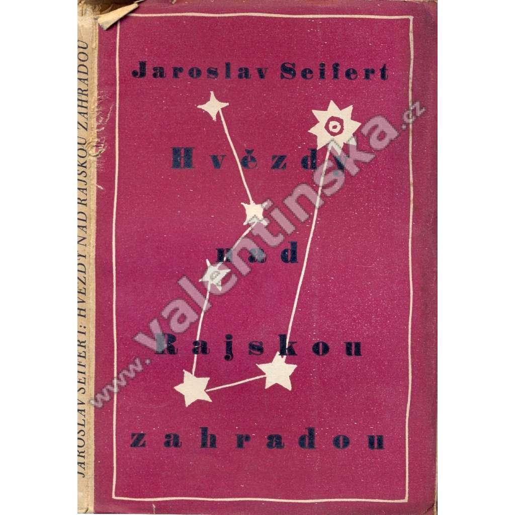 Hvězdy nad Rajskou zahradou (obálka Josef Čapek)